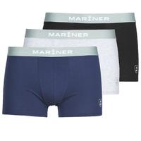 Εσώρουχα Άνδρας Boxer Mariner PACK COTON BIO X3 Black / Marine / Grey