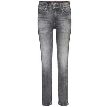 Υφασμάτινα Αγόρι Skinny jeans Tommy Hilfiger SIMON SUPER SKINNY Grey