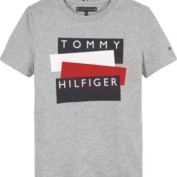 Υφασμάτινα Αγόρι T-shirt με κοντά μανίκια Tommy Hilfiger KB0KB05849-P6U Grey