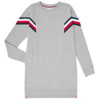 Υφασμάτινα Κορίτσι Κοντά Φορέματα Tommy Hilfiger KG0KG05283-P6U Grey