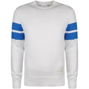 Υφασμάτινα Άνδρας Πουλόβερ Calvin Klein Jeans  Άσπρο