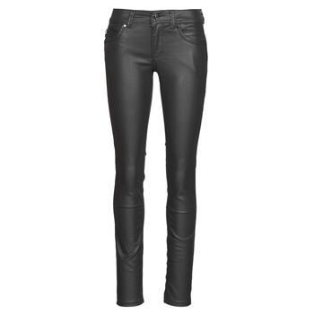 Υφασμάτινα Γυναίκα Skinny Τζιν  Pepe jeans NEW BROOKE Black