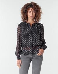 Υφασμάτινα Γυναίκα Μπλούζες Pepe jeans NORA Black