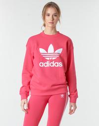 Υφασμάτινα Γυναίκα Φούτερ adidas Originals TRF CREW SWEAT Ροζ