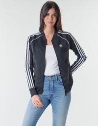 Υφασμάτινα Γυναίκα Σπορ Ζακέτες adidas Originals SST TRACKTOP PB Black