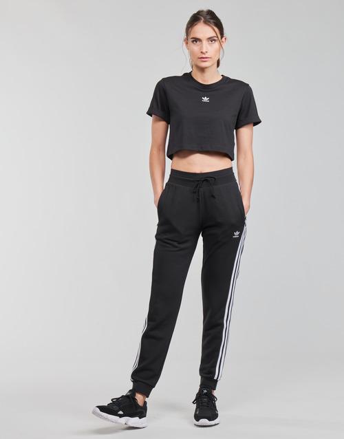 Υφασμάτινα Γυναίκα Φόρμες adidas Originals SLIM PANTS Black