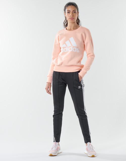 Υφασμάτινα Γυναίκα Φόρμες adidas Originals SST PANTS PB Black