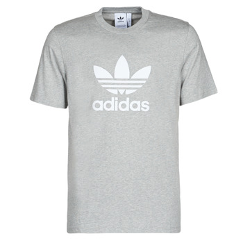 Υφασμάτινα Άνδρας T-shirt με κοντά μανίκια adidas Originals TREFOIL T-SHIRT Bruyère / Grey / Moyen