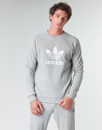 Υφασμάτινα Άνδρας Φούτερ adidas Originals TREFOIL CREW Bruyère / Grey / Moyen