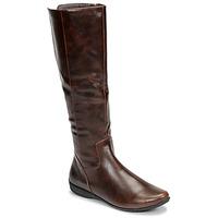 Παπούτσια Γυναίκα Μπότες για την πόλη Moony Mood GURLEN Brown