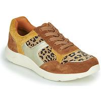Παπούτσια Γυναίκα Χαμηλά Sneakers Damart 62328 Beige / Yellow