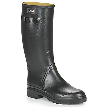 Παπούτσια Άνδρας Μπότες βροχής Aigle CESSAC Μαυρο