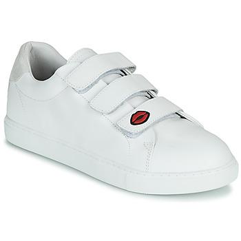 Παπούτσια Γυναίκα Χαμηλά Sneakers Bons baisers de Paname EDITH LEGENDE Άσπρο
