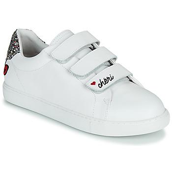 Παπούτσια Γυναίκα Χαμηλά Sneakers Bons baisers de Paname EDITH CHERI Άσπρο