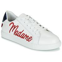 Παπούτσια Γυναίκα Χαμηλά Sneakers Bons baisers de Paname SIMONE MADAME MONSIEUR Άσπρο