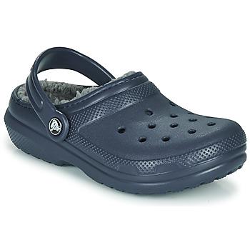 Παπούτσια Παιδί Σαμπό Crocs CLASSIC LINED CLOG K Mπλε