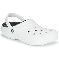Παπούτσια Σαμπό Crocs CLASSIC LINED CLOG Άσπρο