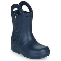 Παπούτσια Παιδί Μπότες βροχής Crocs HANDLE IT RAIN BOOT Navy