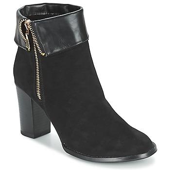 Παπούτσια Γυναίκα Μποτίνια Moony Mood FRISETTE Black