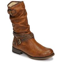 Παπούτσια Γυναίκα Μπότες για την πόλη Mustang 1139624 Cognac