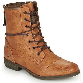 Παπούτσια Γυναίκα Μπότες Mustang 1157508 Camel