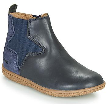 Παπούτσια Κορίτσι Μπότες Kickers VERMILLON Marine