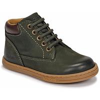Παπούτσια Αγόρι Μπότες Kickers TACKLAND Kaki