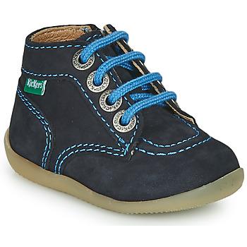 Παπούτσια Αγόρι Μπότες Kickers BONZIP-2 Marine