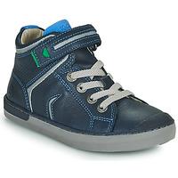 Παπούτσια Αγόρι Ψηλά Sneakers Kickers IRELAS Marine / Μπλέ