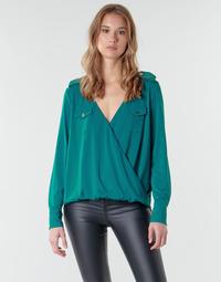 Υφασμάτινα Γυναίκα Μπλούζες Marciano SALLY CREPE TOP Green
