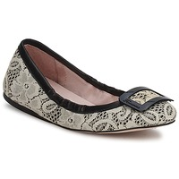 Παπούτσια Γυναίκα Μπαλαρίνες Fornarina LYZA ΜΑΥΡΟ / Ύφασμα /  WO'S / SHOE