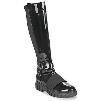 Παπούτσια Γυναίκα Μπότες Philippe Morvan DARMY V1 VERNIS NOIR Black