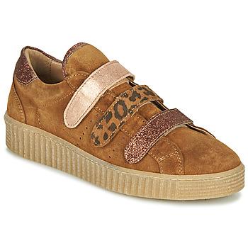 Παπούτσια Γυναίκα Χαμηλά Sneakers Philippe Morvan ZEUS2 V1 SILKY CAMEL Brown