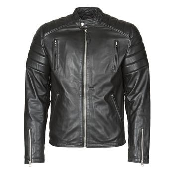 Υφασμάτινα Άνδρας Δερμάτινο μπουφάν Schott LC FUEL Black