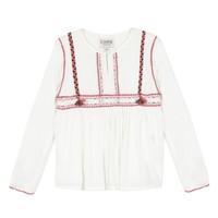 Υφασμάτινα Κορίτσι Μπλούζες Chipie 8R12014-19 Άσπρο