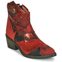 Παπούτσια Γυναίκα Μποτίνια Casta DEMA Red