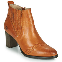 Παπούτσια Γυναίκα Μποτίνια Casta SANTA Cognac