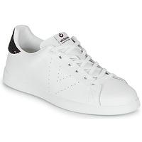 Παπούτσια Γυναίκα Χαμηλά Sneakers Victoria TENIS PIEL Άσπρο / Bordeaux