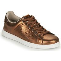 Παπούτσια Γυναίκα Χαμηλά Sneakers Victoria TENIS METALIZADO Bronze