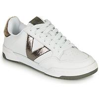 Παπούτσια Γυναίκα Χαμηλά Sneakers Victoria CRONO PIEL Άσπρο / Bronze