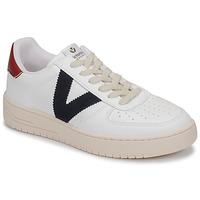 Παπούτσια Χαμηλά Sneakers Victoria SIEMPRE PIEL VEG Άσπρο / Μπλέ / Red