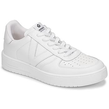 Παπούτσια Γυναίκα Χαμηλά Sneakers Victoria SIEMPRE PIEL Άσπρο