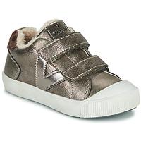 Παπούτσια Κορίτσι Χαμηλά Sneakers Victoria HUELLAS  TIRAS Silver
