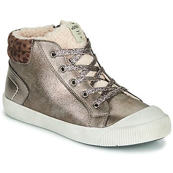 Παπούτσια Κορίτσι Ψηλά Sneakers Victoria HUELLAS METAL Silver