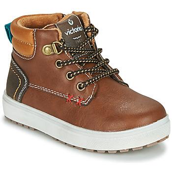Παπούτσια Αγόρι Χαμηλά Sneakers Victoria PUZZLE  PIEL Brown
