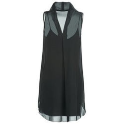 Υφασμάτινα Γυναίκα Κοντά Φορέματα Naf Naf E-LALY Black