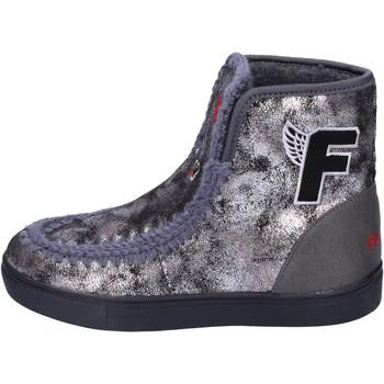 Παπούτσια Κορίτσι Μποτίνια Fiorucci Μπότες αστραγάλου BM419 Γκρί