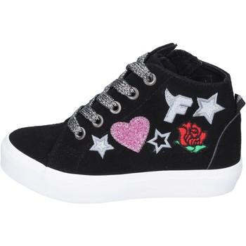 Παπούτσια Κορίτσι Ψηλά Sneakers Fiorucci Αθλητικά BM420 Μαύρος