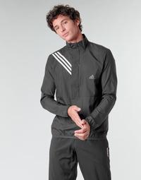 Υφασμάτινα Άνδρας Φούτερ adidas Performance OWN THE RUN JKT Black