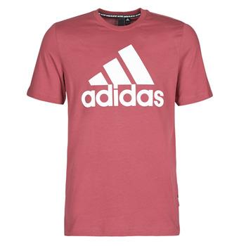 Υφασμάτινα Άνδρας T-shirt με κοντά μανίκια adidas Performance MH BOS Tee Red / Heritage